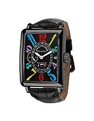 Stuhrling Original Men's 354.33551 Empire Ozzie Automatic Date Black Watch