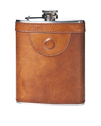 LandLeder Flachmann cognac