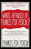 Frances Fox Piven Who's Afraid of Frances Fox Piven