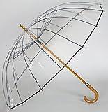 究極のビニール傘がUVに進化して登場 風に強い 老舗傘メーカー(ホワイトローズ社)が作った究極のビニール傘「かてーる16UV」特殊ビニールを使用 【シンカテール】