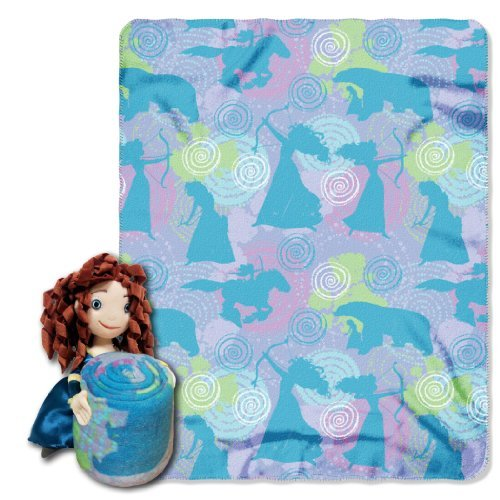 Disney Brave Merida Plush Pillow and Throw Blanket Set eBay