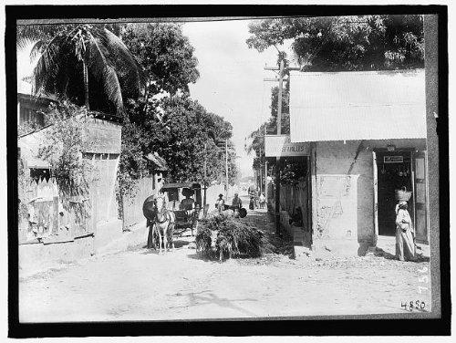 Photo: HAITI. SCENE,PORT AU PRINCE (Haiti Pictures compare prices)