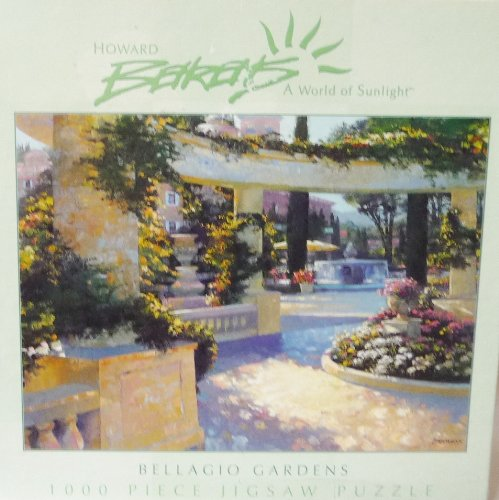 Howard Behrens Gellagio Gardens 1000 Piece Puzzle