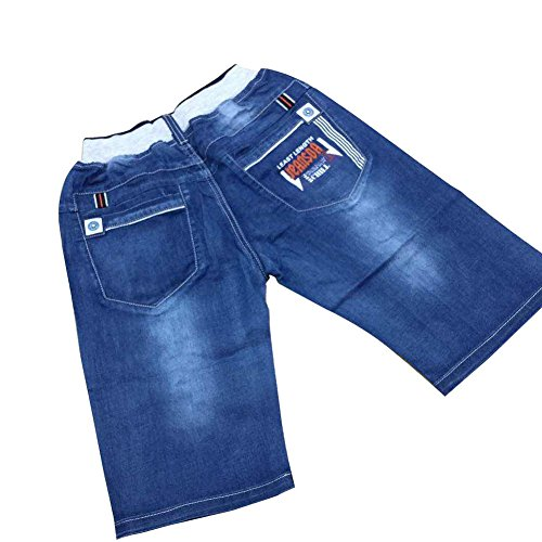 zier-kind-jungen-jeans-denim-beilaufige-hose-elastisch-verstellbarer-bund-mit-gummizug-new-desig-b33