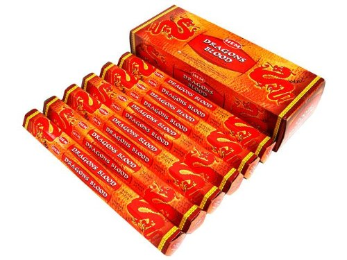 Dragons Blood - 120 Sticks Box - HEM Incense