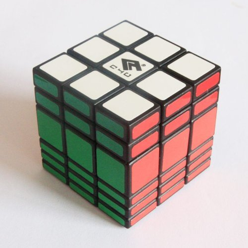 Black C4Y 3x3x6 Fully Functional Cubic Puzzle
