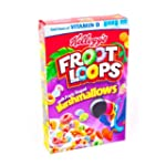 Kelloggs Marshmallow Froot Loops 357g