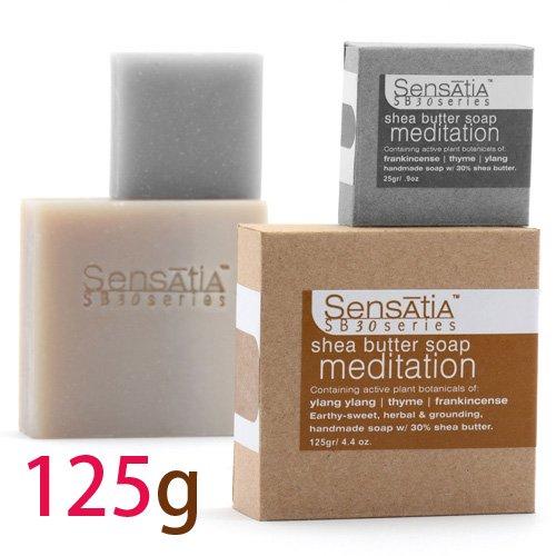 Sensatia センセイシャ シアバターソープ メディテーション 125g