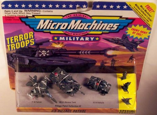 Micro Machines Pillage Patrol #3 Military Collection