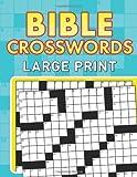 Bible Crosswords--Large Print