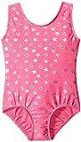 Danskin Little Girls' Gymnastics Leotard, Sparkle Pink, Small/4-6