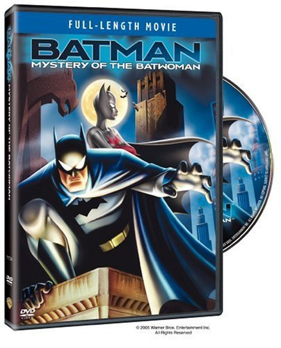 Batman Mystery Of The Batwoman from Warner Home Video