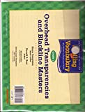 Houghton Mifflin Spelling and Vocabulary: Overhead Transparencies and Blackline Masters Grade 1