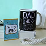Dad is Hero Mug-Mug 1, Fathers Day Tag 1, mugs for fathers day, ceramic mugs for fathers day, gifts for fathers day, fathers day gifts from daughter, fathers day gifts from son, fathers day gifts from kids, fathers day gifts, Coffee Mug, Mug for Gifts, Birthday Gifts for Father, Birthday Gifts for Dad, Coffee Mug with Quotes-GIFTS111677