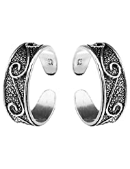 Jewels Cart Sterling Silver Toe Ring For Women - B018QT6NYI