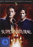 DVD Cover 'Supernatural - Staffel 5 [6 DVDs]