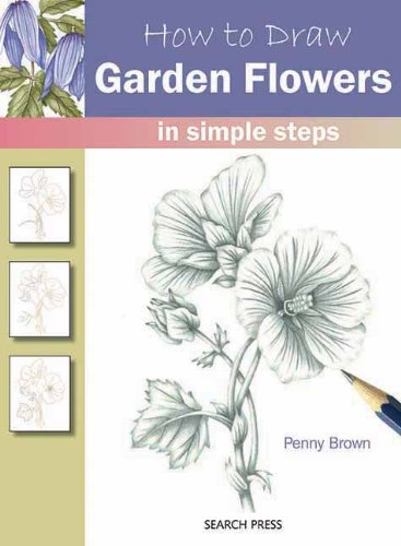 How to Draw Garden Flowers: in simple steps (How To Draw The Garden compare prices)
