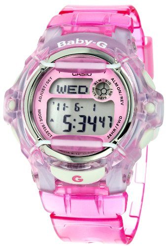 Casio Women's BG169R-4 Baby-G Pink Whale Digital