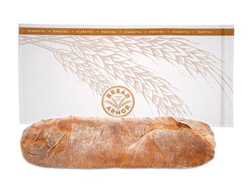 Bread Armor Ciabatta Bread Bags, 2-Pack