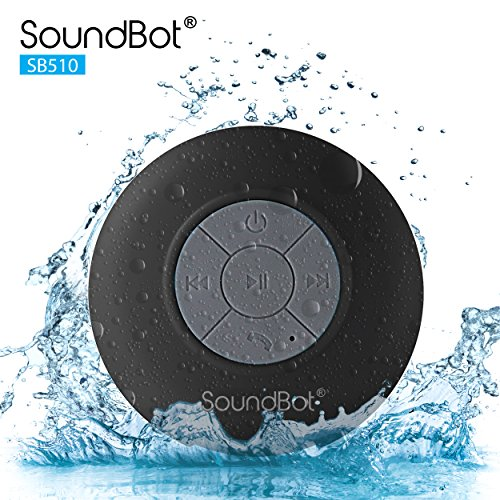 SoundBot SB510 Mini Wireless Shower Speaker