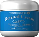 Vitamin World Retinol Cream, 8 Count