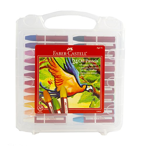 Faber-Castell 24 Count Oil Pastels - 1