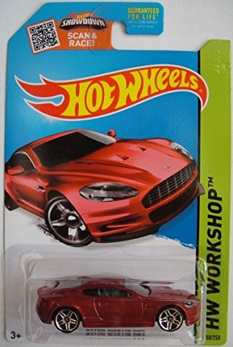 Hot Wheels, 2015 HW Workshop, Aston Martin DBS [Maroon] Die-Cast Vehicle #250/250