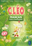 Franais CE1 : Fichier d'entranement CLEO