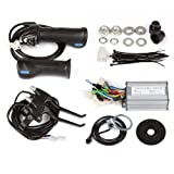 SainSpeed-DIY-Electric-Bike-Bicycle-Motor-Conversion-Kit-with-Hub-Motor-with-wheel-Controller-Speed-Throttle-Brake-Lever-Hand-Grip-Pedal-Assistant-System-Power-Indicator