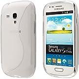 ECENCE Samsung Galaxy S3 mini i8190 i8200 Coque de protection housse case shell transparent 14020406