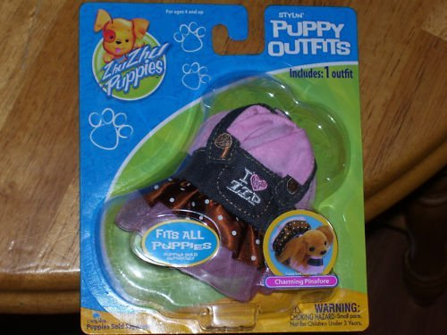 Zhu Zhu Puppies Puppy Outfits Charming Pinafore