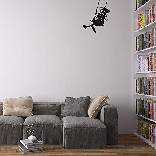 banksy-girl-swinging-wall-art-wandtattoo