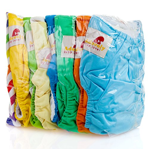 Adovely Baby Cloth Diaper Pocket Covers 15pc Gift Set (All in One)