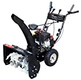 Power Smart DB7659A 24-inch 208cc LCT Gas Powered 2-Stage Snow Thrower with Electric Start