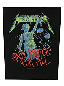 METALLICA BACKPATCH RÜCKENAUFNÄHER # 12 AND JUSTICE FOR ALL