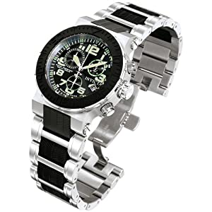 Buy Invicta Mens 6137 Reserve Collection Ocean Reef Chronograph Stainless Steel Watch by Invicta