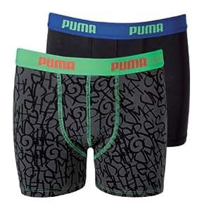 Puma Kinder Shortboxer Tag, Dark Shadow, 140, 635033001862140