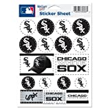 MLB Chicago White Sox Vinyl Sticker Sheet, 5