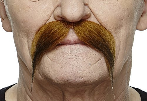 Rich uncle ginger moustache