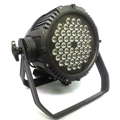 4PCS 54X3W DMX512 PAR 64 Waterproof IP65 Stage Light Party DJ Club EU Plug by buytra