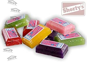 Shortys Curb Candy 1 Piece Wax Bar Pocket Size (Skateboard / Scooter / Inline)