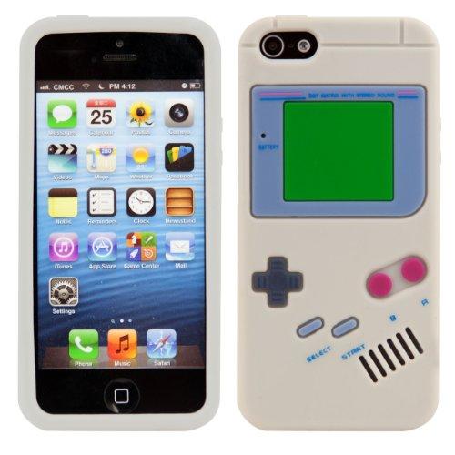 custodia-in-silicone-fantasia-gameboy-per-apple-iphone-5-5s-in-grigio-design-stiloso-e-protezione-ot