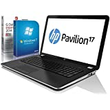 HP Pavilion 17-f212ng (17,3 Zoll) Notebook (Intel Celeron N2840 2x2.58 Ghz, 8GB RAM, 750GB S-ATA HDD, Intel HD Graphic, HDMI, Webcam, Beatsaudio®, USB 3.0, Bluetooth 4.0, Cardreader, WLAN, Windows 7 Professional 64 Bit) #4890