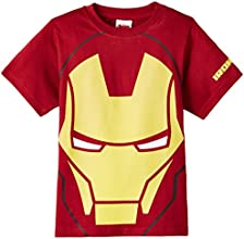 Avengers Boys' T-Shirt (ABTS-1527_Red_9-10 years)