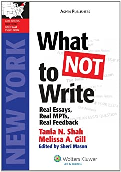new york bar essay advice Advice for repeat bar takers what advice would you give to a student that just found out s/he didn't pass the bar any study tips words of encouragement  new york  solosez popular threads, april 2013 2 of 17 jeena:  in a law school exam and bar essay exam is to incorporate the word because into each and every sentence you.