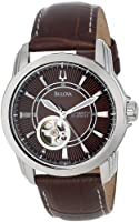 Bulova Men's 96A108 Automatic Mechanical Strap Brown Dial Watch from Bulova