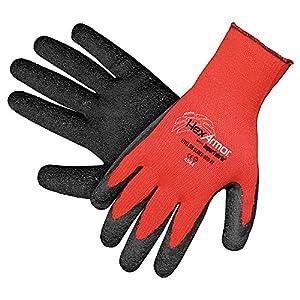Cut Resistant Gloves, Red/Black, XL, PR