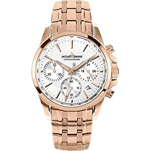 Jacques Lemans Liverpool 1-1752M 35mm Ion Plated Stainless Steel Case Rose Gold Steel Bracelet Mineral Women's Watch