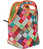 "Neoprene Lunch Bag by ART OF LUNCH with Design by Danny Ivan (Portugal) - Large [12"" x 12"" x 6.5""] Designer Lunch Tote Produced Through a Partnership With Artists Around the World"