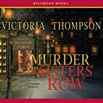 Murder on Sister's Row (       UNABRIDGED) by Victoria Thompson Narrated by Suzanne Toren